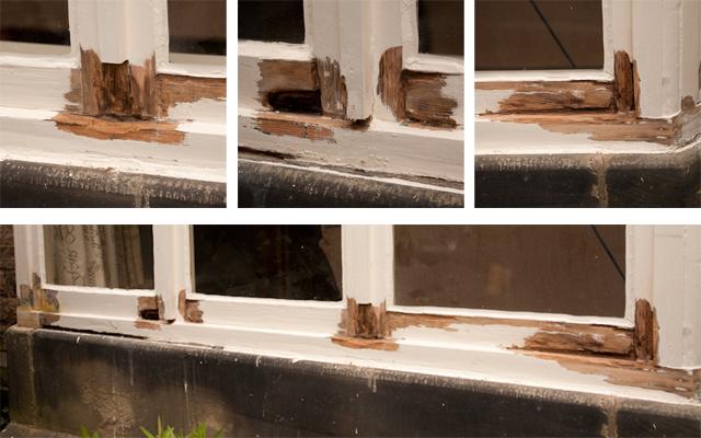 Great Bay Window Repair: Before 2